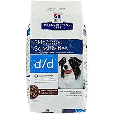 Hill's Prescription Diet d/d Canine Skin Support Potato & Venison - 17.6lb