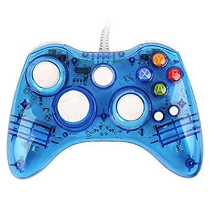 Afterglow Xbox 360 Wired Controller Driver Windows 7: Amazon.com: USB Wired Afterglow Blue Game Pad Controller Gamepad rh:amazon.com,Design