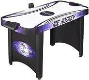Hathaway Hat Trick Air Hockey Table (Black/Blue, 4-Feet)
