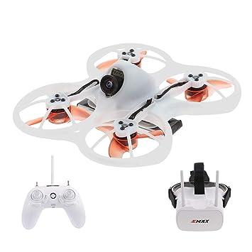 Goolsky Mini Drone con Cámara 600TVL sin escobillas RC Racing ...