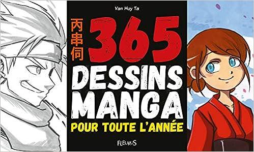 365 Dessins Manga Pour Toute L Année Amazon Ca Van Huy Ta