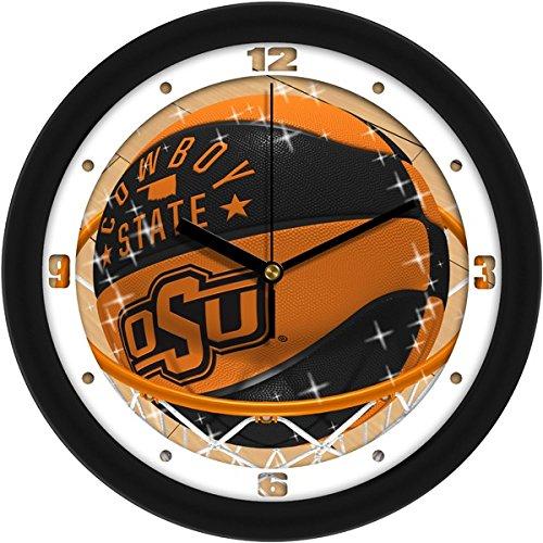 SunTime NCAA Oklahoma State Cowboys Slam Dunk Wall Clock