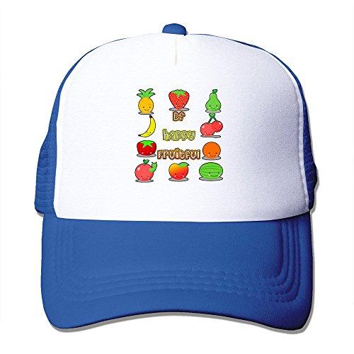 Texhood Be Happy Fruitful Geek Sunhats One Size RoyalBlue