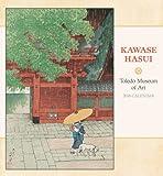 Kawase Hasui 2018 Wall Calendar
