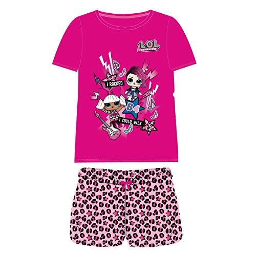 Cerdá Pijama Corto Algodón LOL Conjuntos Niñas