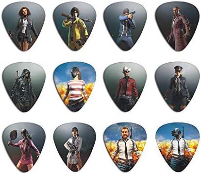 10 púas para guitarra de 3 tipos de grosor, accesorios para bajo ...