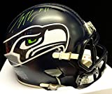 PERCY HARVIN AUTOGRAPHED SEATTLE SEAHAWKS SPEED MINI HELMET IN GREEN PSA/DNA STOCK #73281
