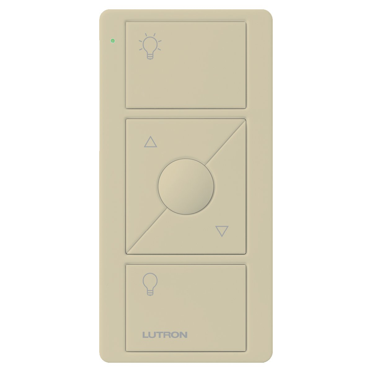 Lutron 3-Button with Raise/Lower Pico Remote for Caseta Wireless Smart Lighting Dimmer Switch, PJ2-3BRL-GIV-L01, Ivory - - Amazon.com