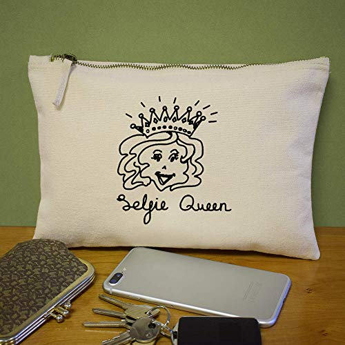Accesorios cl00010713 Case Queen' De Embrague Bolso Azeeda 'selfie qXFRw887