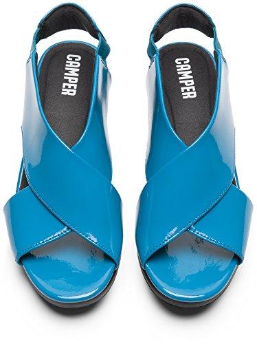 Camper Bll K200066-010 Sandalias Mujer Azul