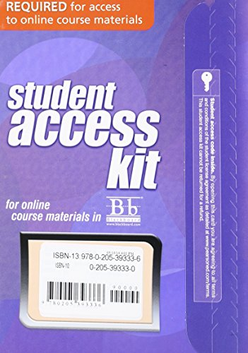 (Blackboard -- Access Card -- for Campbell Biology)