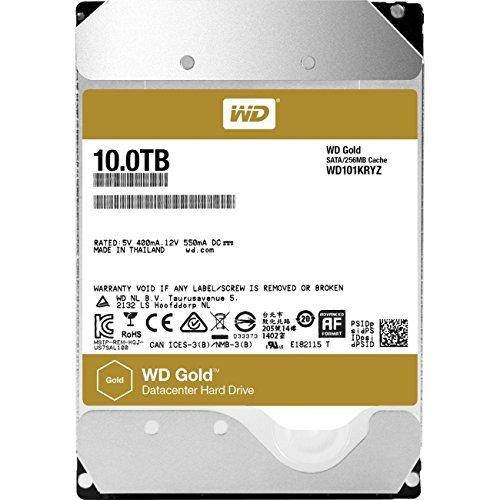WD101KRYZ 10TB WD Gold™ high-capacity datacenter hard