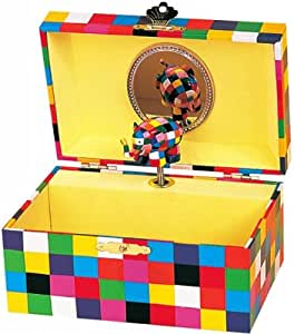 Trousselier-Caja musical, diseño de madera, diseño de elefante ...
