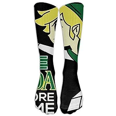 Call Me Zelda One More Time Unisex Tube Sock Novelty Crew Fashion Novelty Knee High Socks