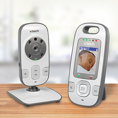 VTech VM312 Safe & Sound Video Baby Monitor with Automatic IR Night Vision