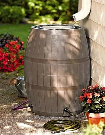4 Port Deluxe Rain Barrel