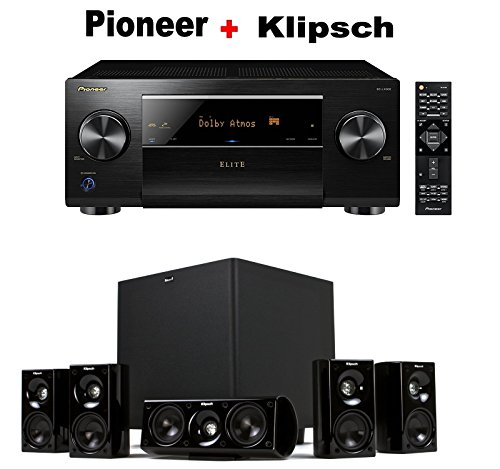 Pioneer-Elite-Audio-Video-Component-Receiver-black-SC-LX502-Klipsch-HDT-600-Home-Theater-System-Bundle
