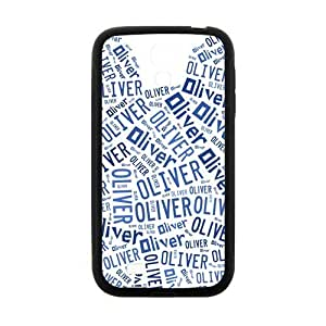HUAH Oliver Lovely blue bear head Cell Phone Case for Samsung Galaxy S4