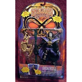 Amazon.com: Skeleton Warriors Grimskull Action Figure