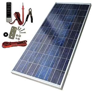 Amazon Com Sunforce 39810 80 Watt High Efficiency Polycrystalline Solar Panel With