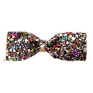 Glitter Bow Duck Clip