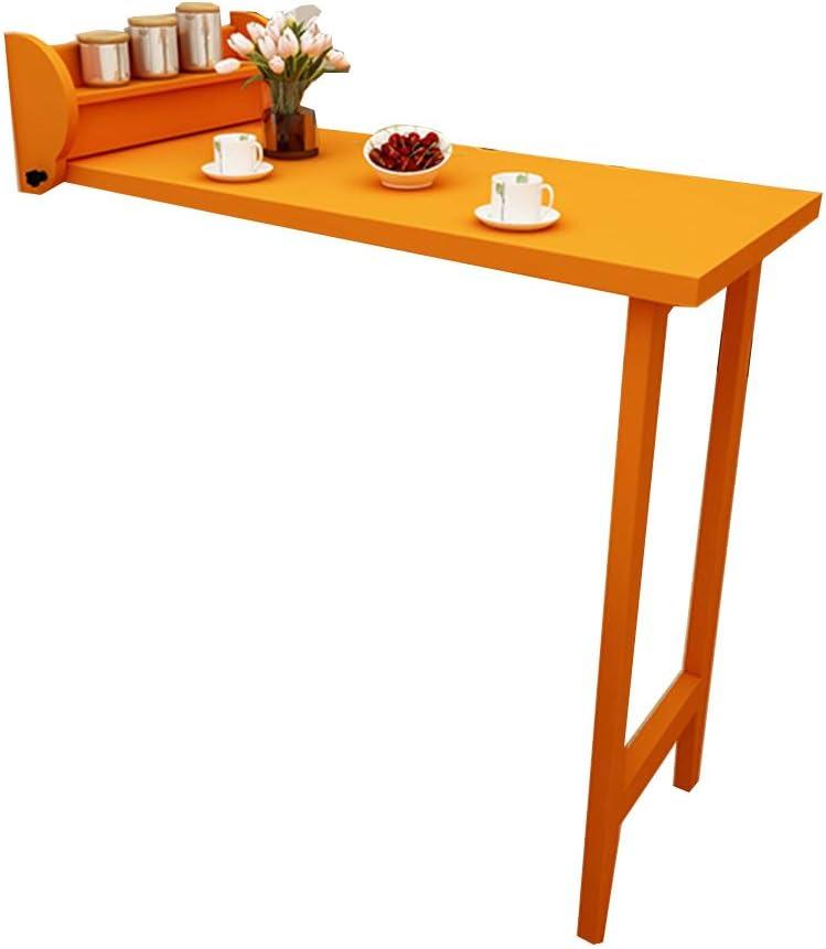 XIA Home Fold Tablero de la Barra Montaje en la Pared Sala de Estar contra la Pared Mesa de Comedor Simple: Amazon.es: Hogar
