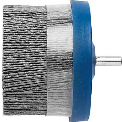 5000 RPM Silicon Carbide 120 Grit 3 Diameter 0.040 Round Filament PFERD 84262 M-Brad Stem-Mounted Composite Disc Brush