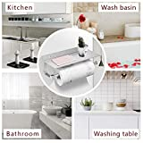 BESy Paper Towel Holder Wall Mounted for Kitchen 13