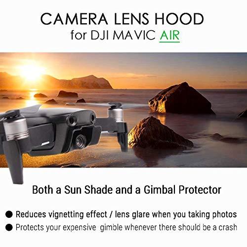 Lens Hood Sun Shade Accessories Camera Gimbal Cover Protector Guard Cap Lock for DJI Mavic Air