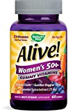 Cheap Nature's Way Alive! Women's 50+ Multivitamin Gummies, Food-Based Blend (75mg per serving), Gluten Free, Made with Pectin, 60 Gummies