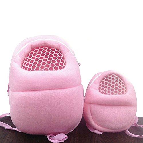 MARBOL Portable Hedgehog Hamster Sugar Glider-Rat Carrier Breathable Travel Shoulder Bags Backpack Pets Accessories (Large)