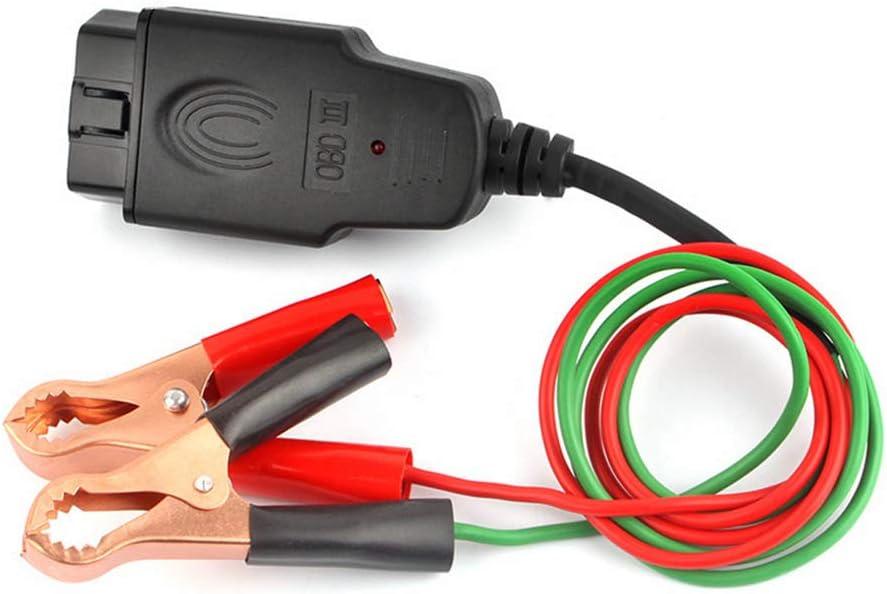 Green Red Dyda6 Auto-Diagnosekabel OBD2 Buchse Memory Saver Batterie Ersatz Notstrom-Schnittstelle Auto Fahrzeug Memory Saver Tool Black Free Size