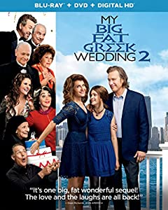 Cover Image for 'My Big Fat Greek Wedding 2 (Blu-ray + DVD + Digital HD)'
