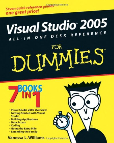 [PDF] Visual Studio 2005 All-In-One Desk Reference For Dummies Free Download | Publisher : For Dummies | Category : Computers & Internet | ISBN 10 : 0764597752 | ISBN 13 : 9780764597756