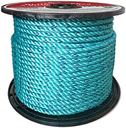 Blue Black dyneema Fiber Strong Rope Green Samson Amsteel Blue Rope 1//4 3//16 and 1//8 Orange Silver Red 5//16 Yellow 3//8 X 50 FT Hank, Yellow