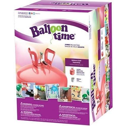 """Balloon Time Jumbo 12"""" Helium Tank ..."""