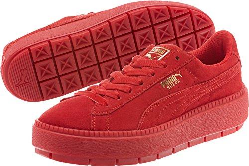 PUMA Womens Suede Platform Trace Red Red Dahlia / Barbados Cherry fashionable for sale SxfYddC9