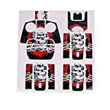 Drones/Quadcopter / Helicopter/Drone Accessories - Waterproof PVC 3D Stickers Decal Skin Cover Protector for Parrot ANAFIDrone RC Style_B