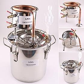 WMN_TRULYSTEP 8541958125 Home Distiller, 3 Gallon 12 Liters, Stainless