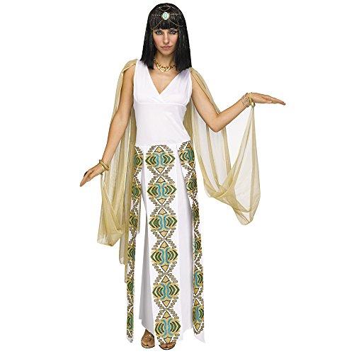 Fun World Womens Sexy Cleopatra Egyptian Costume size M/L 10-14