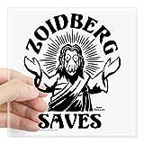 zoidberg decal - CafePress - Zoidberg Saves Square Sticker 3