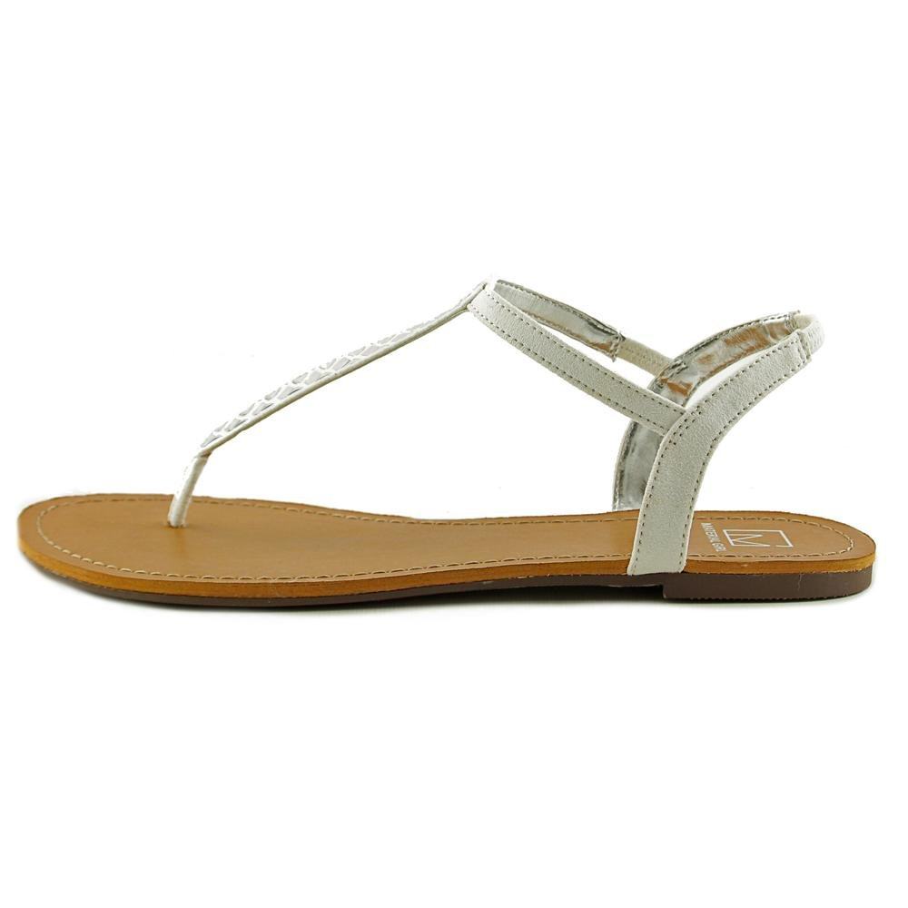 26a1bd4ddaaed Material Girl Sage Women US 9.5 White Thong Sandal
