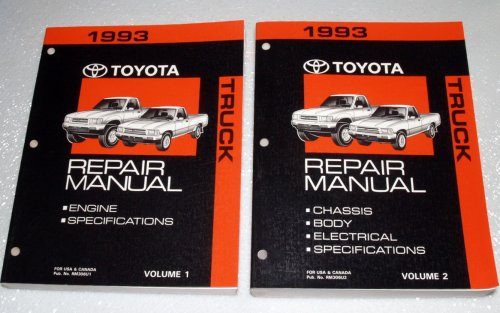 Toyota Truck Service Manual (1993 Toyota Truck Repair Manuals (RN80, 85, 90, 101, 106, 110, VZN85, 90, 95, 100, 105, 110 Series, 2 Volume Set))