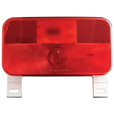Optronics RV-ST51P White Base RV Tail License Plate Light: Automotive