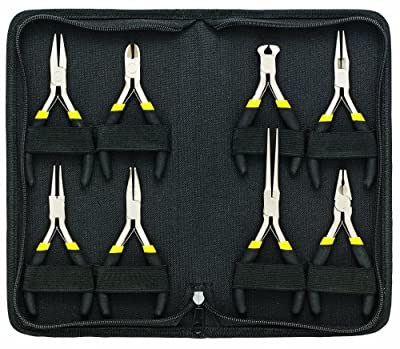 General Tools 938 Technician's Mini Plier Set, 8-Piece