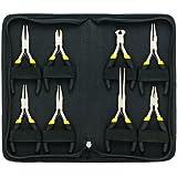 General Tools 938 Technician's Mini Plier Set, 8-Piece