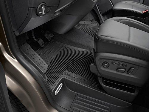 Volkswagen 7H1061551D 041 Gummimatten Gummi Fuß matten vorn *** Druckknopf *** Heavy Duty Allwettermatten 7H1061551D041