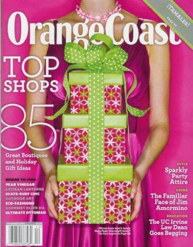 Orange Coast - December 2008: The Best OC Shopping! (Single Issue Magazine)