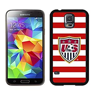 Unique and Nice Case USA Soccer 7 Samsung Galaxy S5 I9600 Case in Black