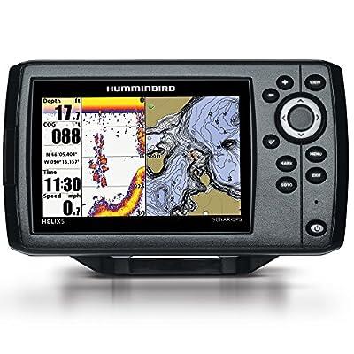 Humminbird 410210-1 HELIX 5 CHIRP GPS G2 Fish finder by Humminbird